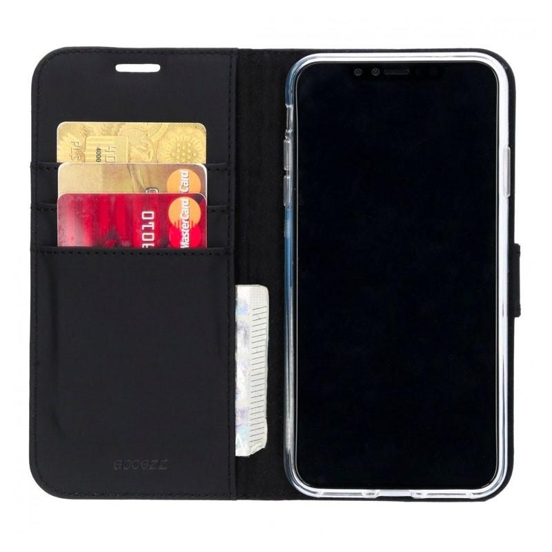 Accezz Booklet Wallet iPhone XS Max Zwart - 1