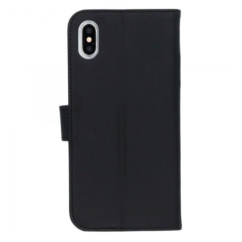 Accezz Booklet Wallet iPhone XS Max Zwart - 2