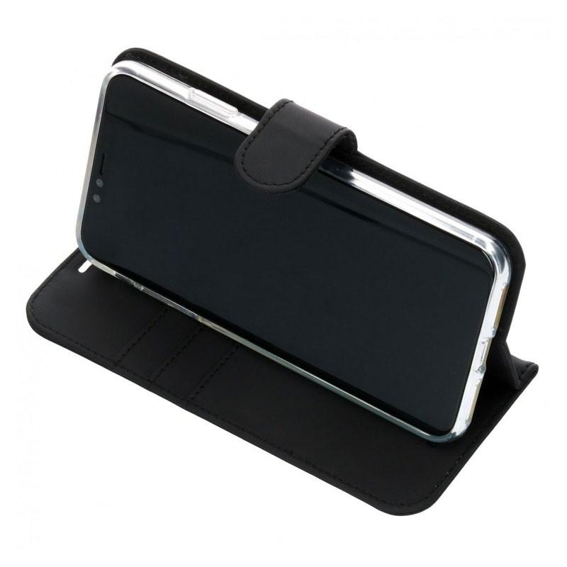 Accezz Booklet Wallet iPhone XS Max Zwart - 4