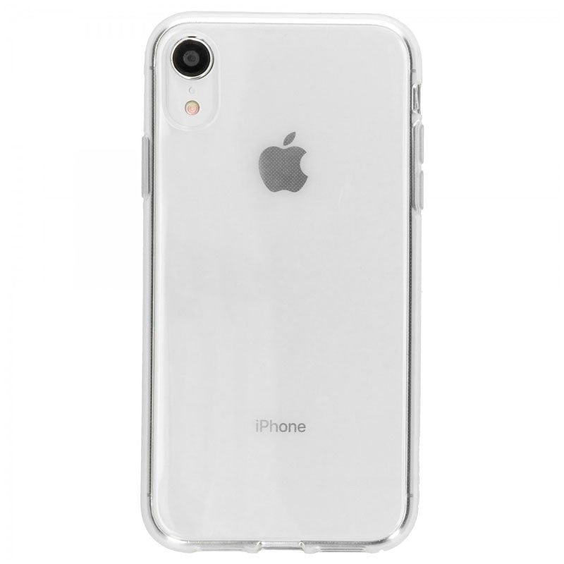 Accezz TPU Cover Clear iPhone XR Transparant - 1
