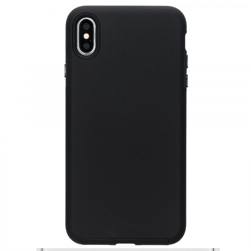 Accezz Extreme Cover iPhone XS Max Zwart 01