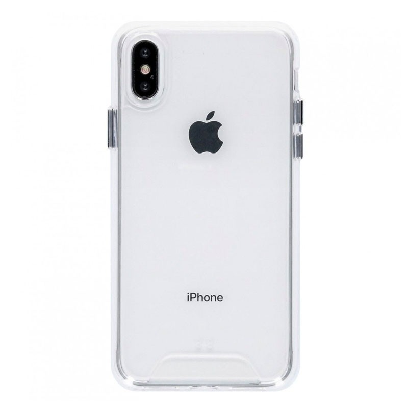Accezz Impact Case Xtreme iPhone XS Max Transparant - 1