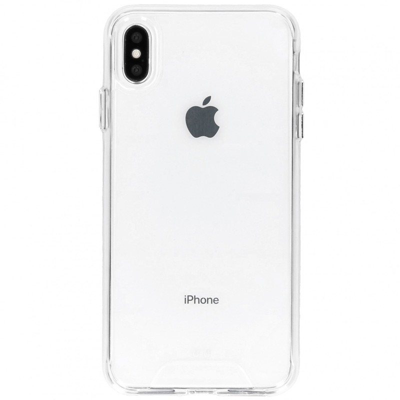 Accezz Extreme Impact Case iPhone XR Transparant - 1