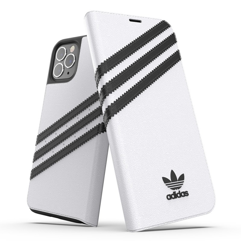 Adidas Booklet Case iPhone 12 / 12 Pro 6.1 Wit - 6