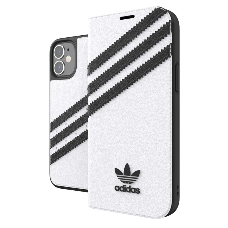 Adidas Booklet Case Phone 12 Mini 5.4 Wit - 1