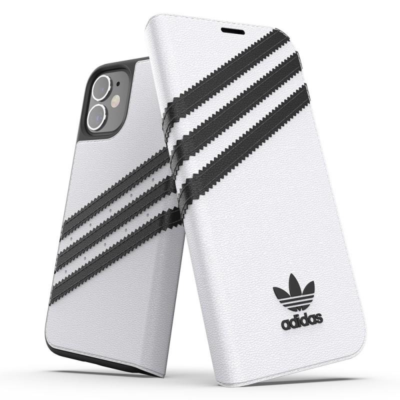 Adidas Booklet Case Phone 12 Mini 5.4 Wit - 5