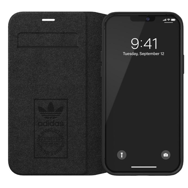 Adidas Booklet Case Phone 12 Mini 5.4 Zwart - 5