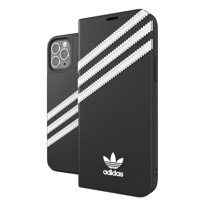 Adidas Booklet Case iPhone 12 Pro Max Zwart - 1