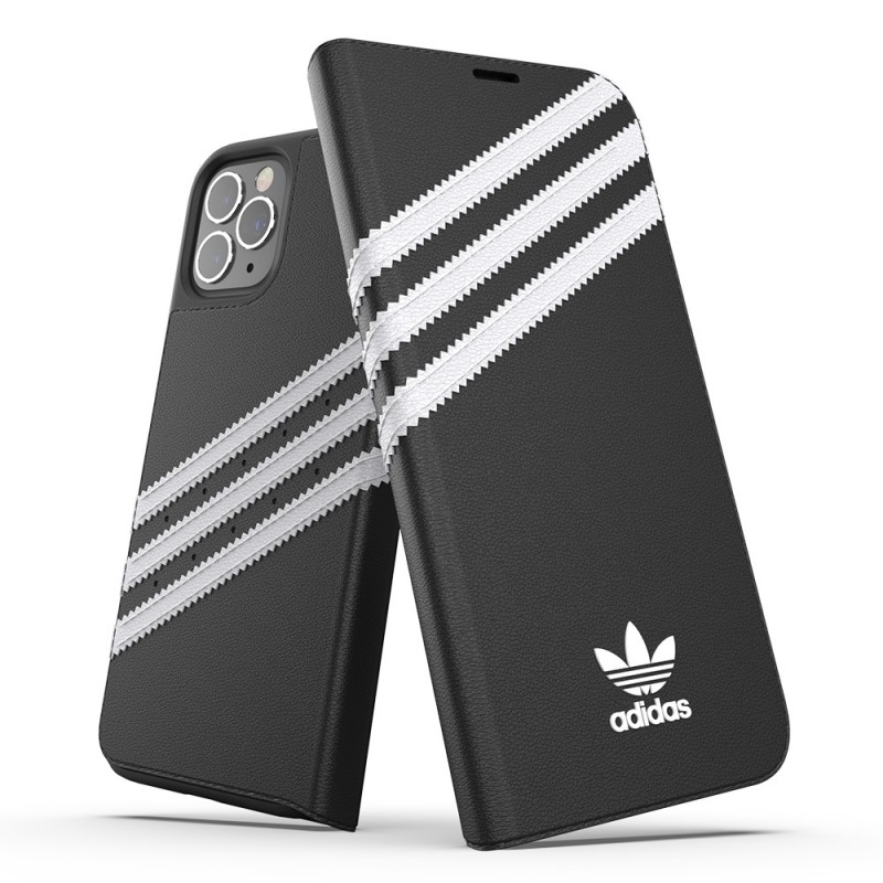 Adidas Booklet Case iPhone 12 Pro Max Zwart - 4