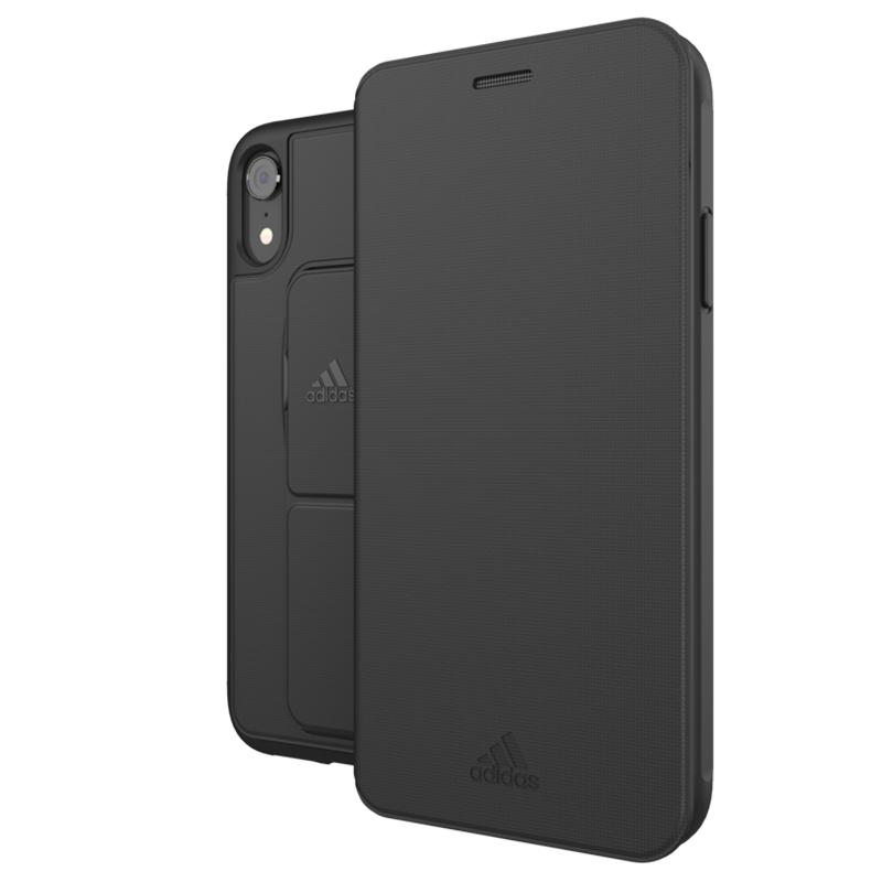 Adidas Folio Grip Case iPhone XR Zwart 02