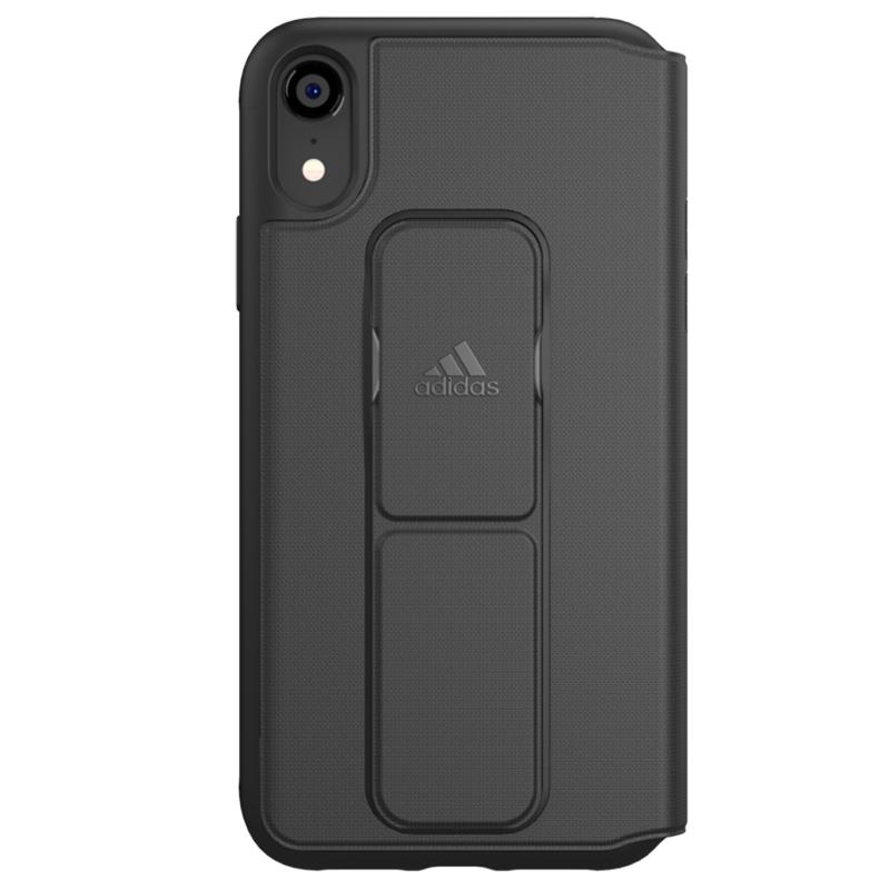 Adidas Folio Grip Case iPhone XR Zwart 03