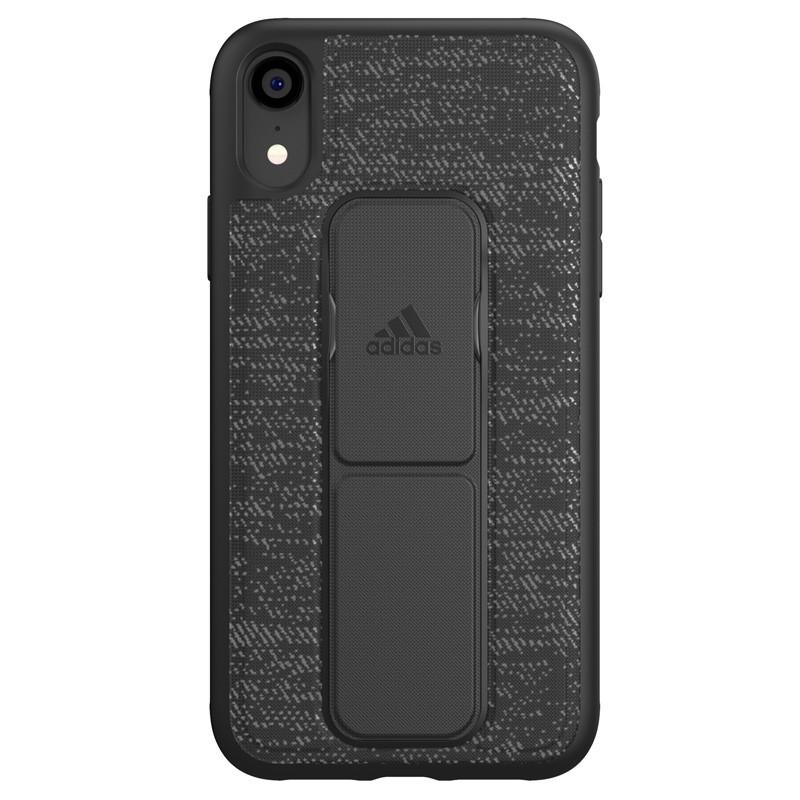 Adidas Grip Case iPhone Xr zwart 01