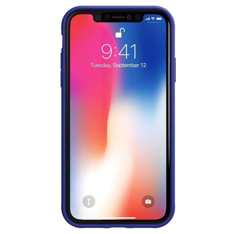 Adidas Grip Case iPhone Xr blauw 02