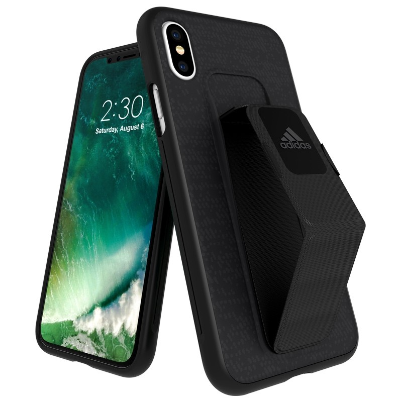 Adidas SP Grip Case iPhone X/Xs Zwart 01