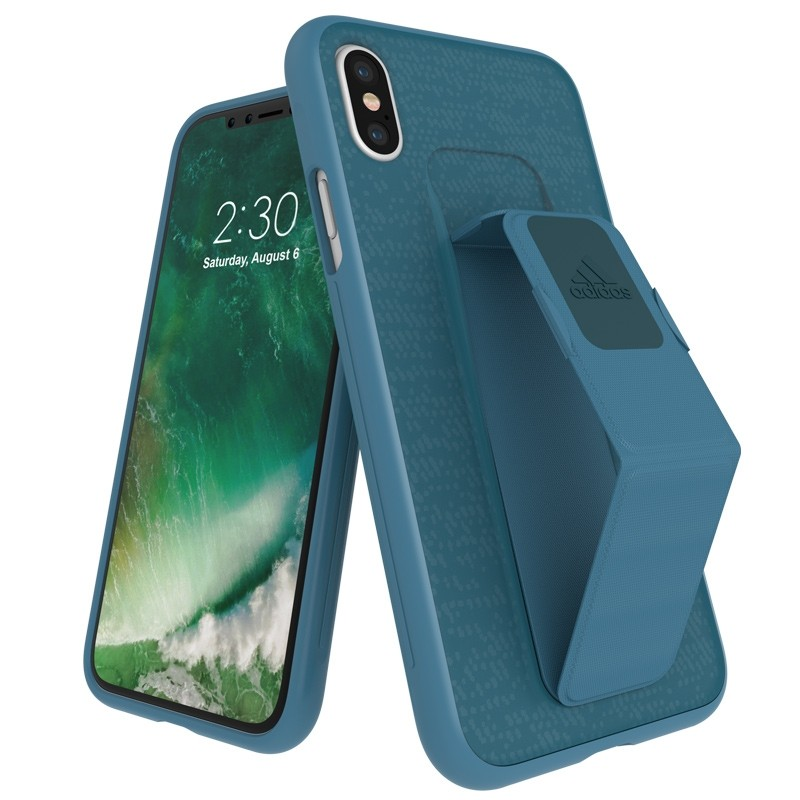 Adidas SP Grip Case iPhone X/Xs Mystery Blue 01