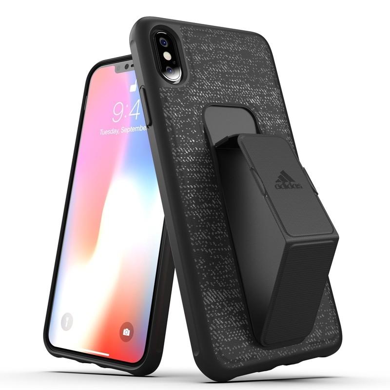 Adidas Grip Case iPhone XS Max hoes zwart 03