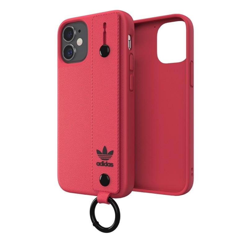 Adidas Hand Strap Case Phone 12 Mini 5.4 Roze - 5