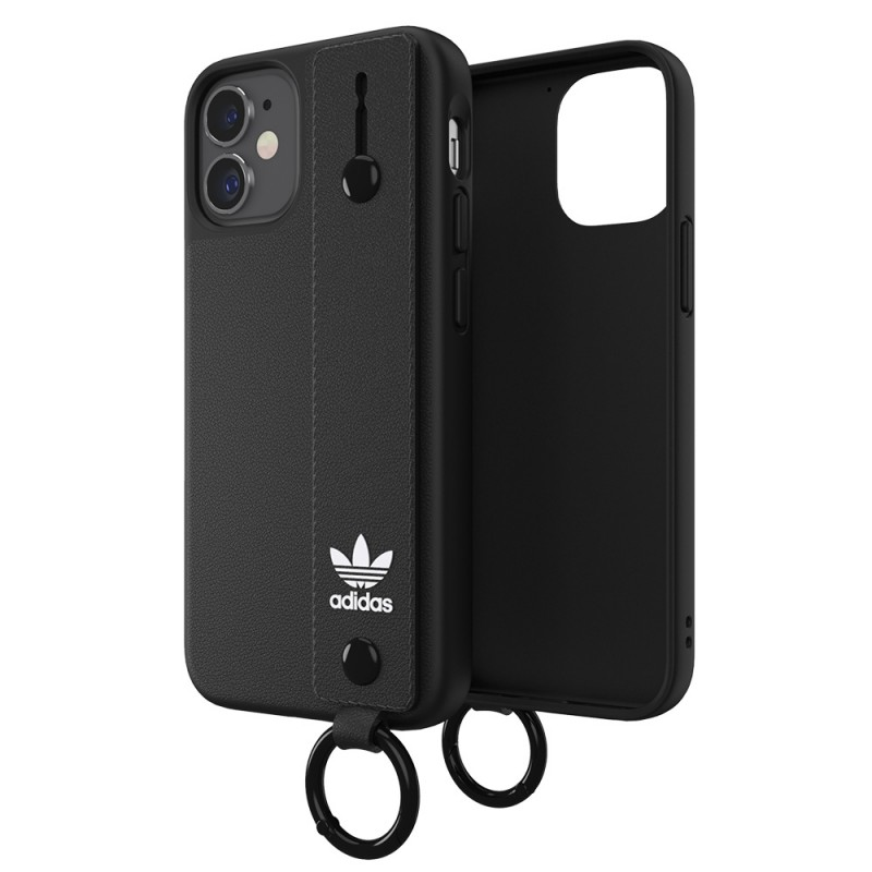 Adidas Hand Strap Case Phone 12 Mini 5.4 Zwart - 5
