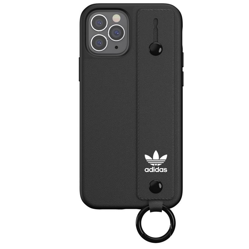 Adidas Hand Strap Case iPhone 12 Pro Max Zwart - 2