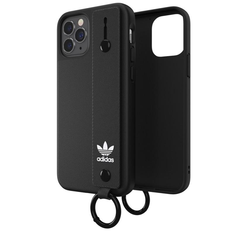 Adidas Hand Strap Case iPhone 12 Pro Max Zwart - 5