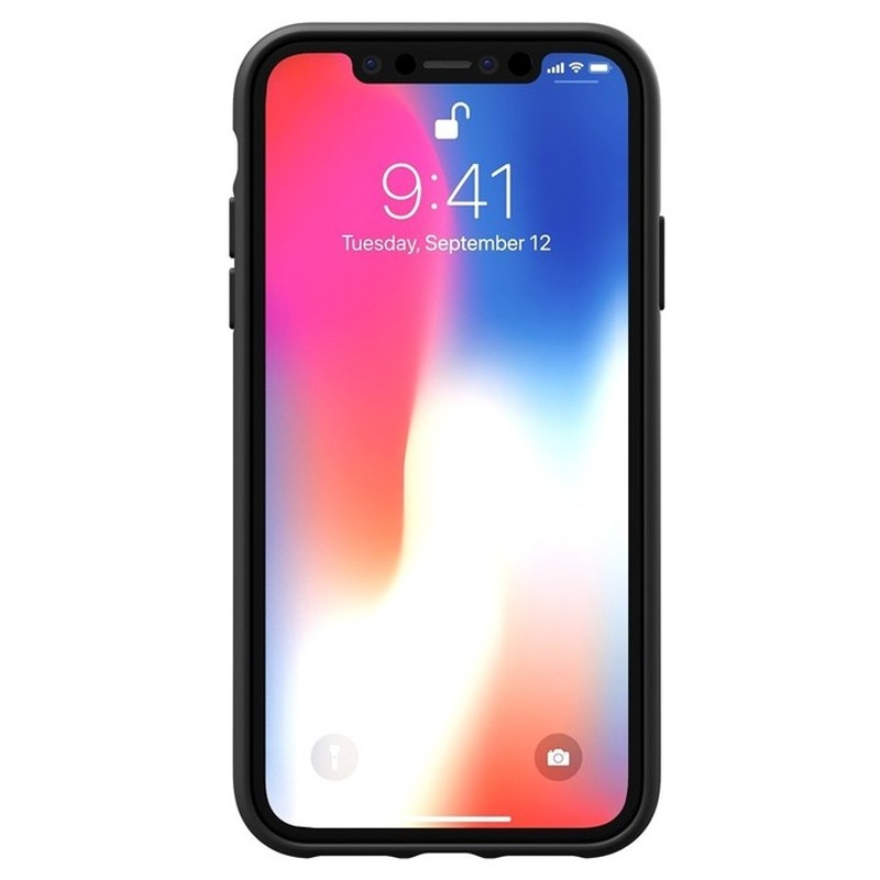 Adidas Moulded Case iPhone Xr zwart 02