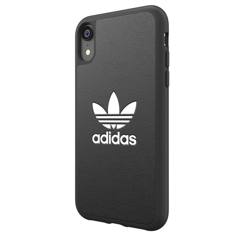 Adidas Moulded Case iPhone Xr zwart 04