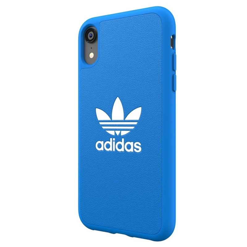 Adidas Moulded Case iPhone Xr blauw 04
