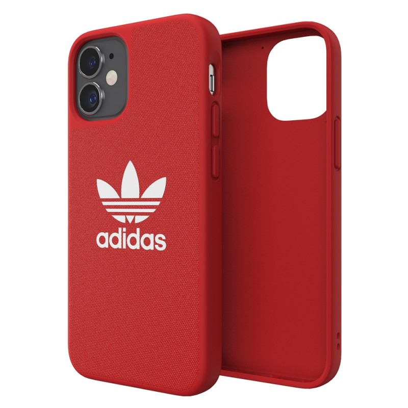 Adidas Moulded Case Trefoil Phone 12 Mini 5.4 Rood - 1