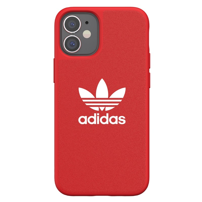 Adidas Moulded Case Trefoil Phone 12 Mini 5.4 Rood - 5