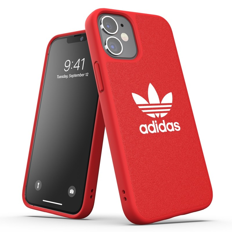 Adidas Moulded Case Trefoil Phone 12 Mini 5.4 Rood - 4