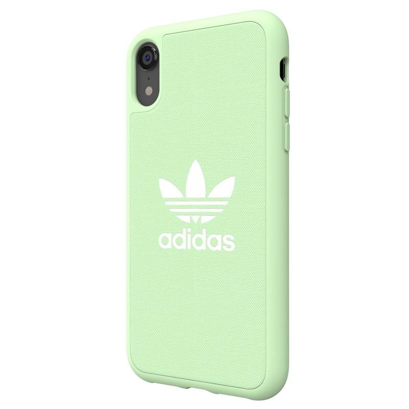 Adidas Moulded Case Canvas iPhone Xr groen 04