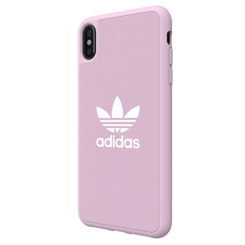 Adidas Moulded Case Canvas iPhone XS Max hoesje roze 04