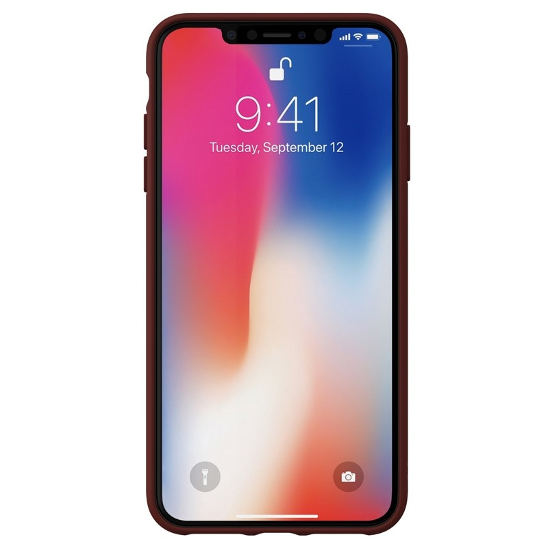 Adidas Moulded Case Canvas iPhone XS Max rood 02