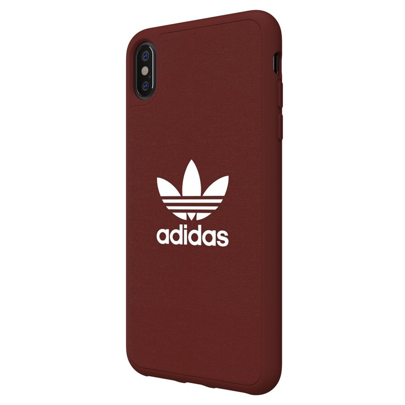 Adidas Moulded Case Canvas iPhone XS Max rood 04