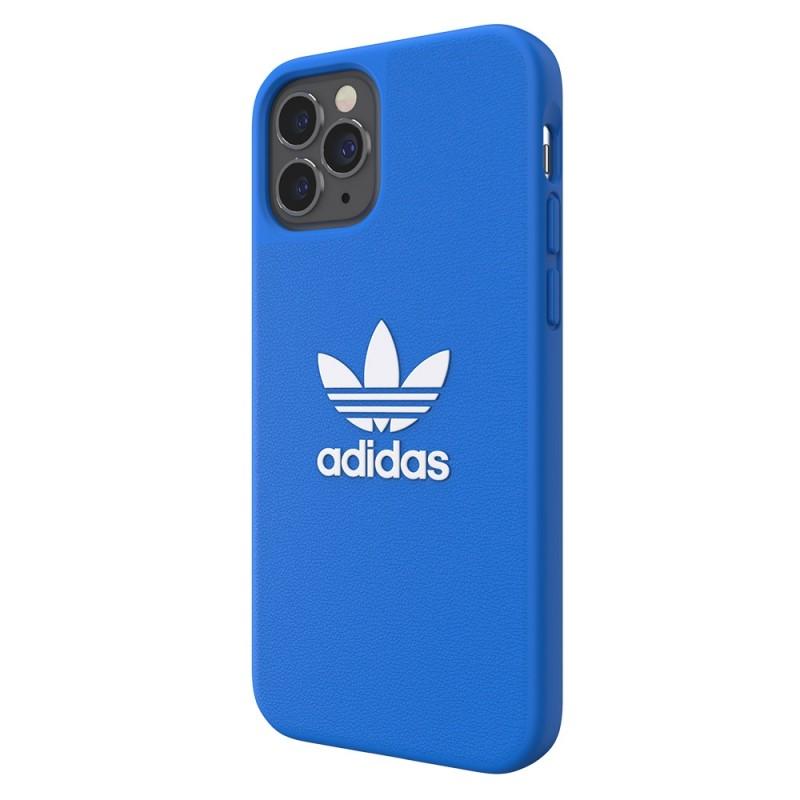 Adidas Moulded Case Trefoil iPhone 12 / 12 Pro 6.1 Blauw  - 6