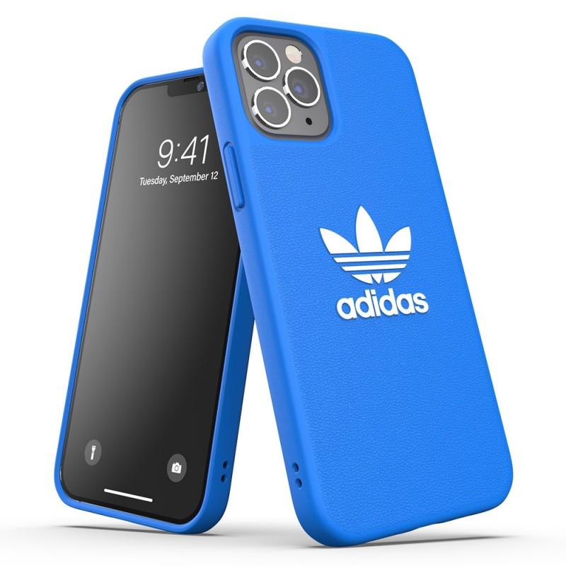 Adidas Moulded Case Trefoil iPhone 12 / 12 Pro 6.1 Blauw  - 4