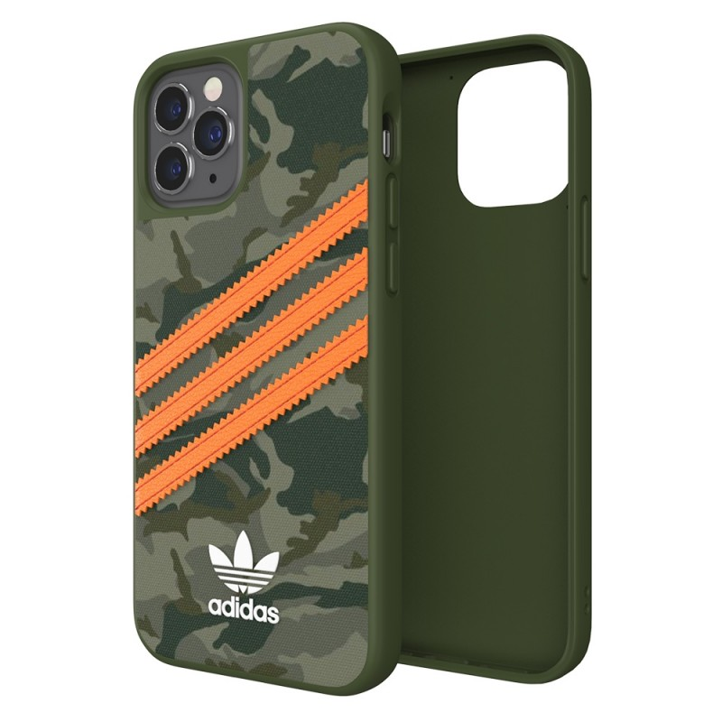 Adidas Moulded Case Camp iPhone 12 / 12 Pro 6.1 Groen/oranje - 1
