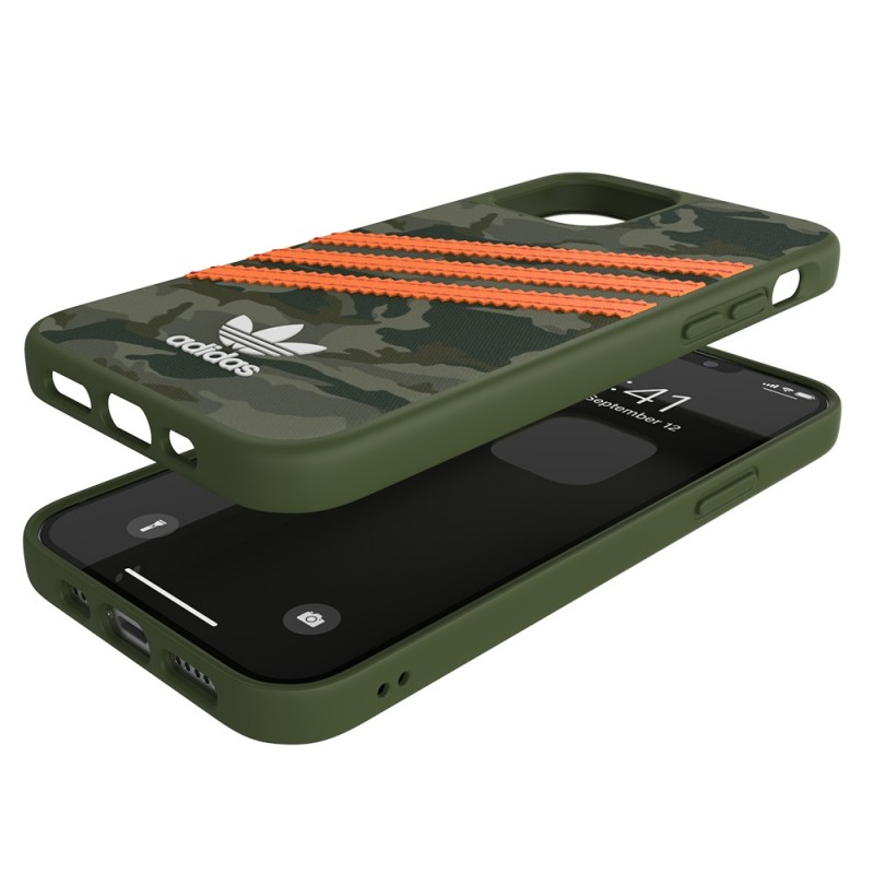 Adidas Moulded Case Camp iPhone 12 / 12 Pro 6.1 Groen/oranje - 2