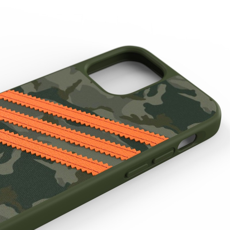 Adidas Moulded Case Camp iPhone 12 / 12 Pro 6.1 Groen/oranje - 3