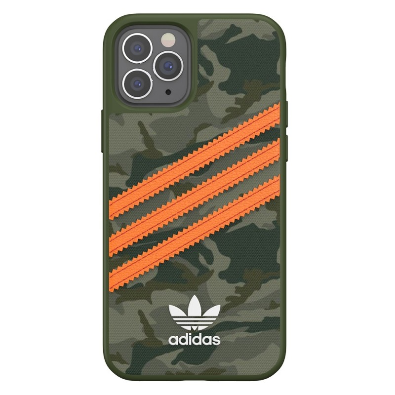 Adidas Moulded Case Camp iPhone 12 / 12 Pro 6.1 Groen/oranje - 5