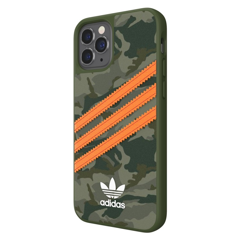 Adidas Moulded Case Camp iPhone 12 / 12 Pro 6.1 Groen/oranje - 4