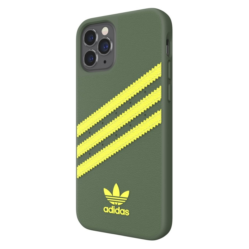 Adidas Moulded Case iPhone 12 / 12 Pro 6.1 Groen/geel - 4