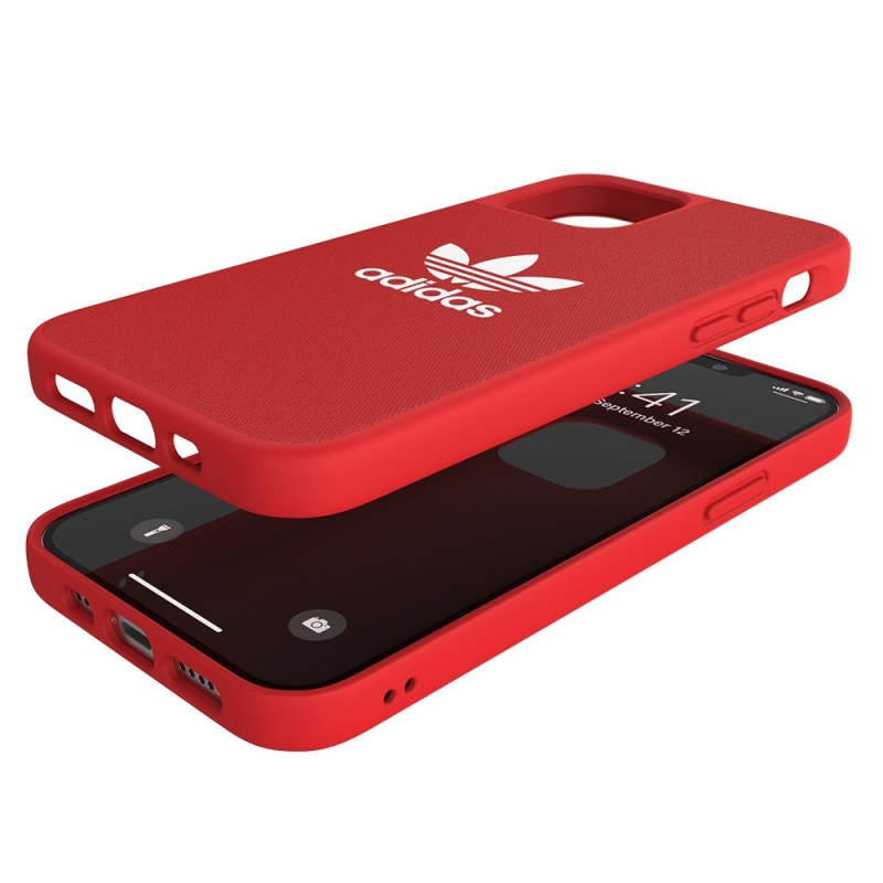 Adidas Moulded Case iPhone 12 / 12 Pro 6.1 Rood  - 2