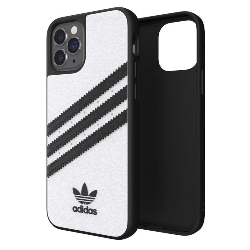 Adidas Moulded Case iPhone 12 / 12 Pro 6.1 Wit/zwart - 1