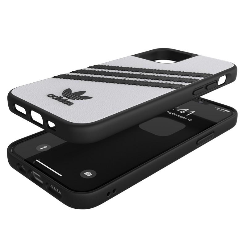 Adidas Moulded Case iPhone 12 / 12 Pro 6.1 Wit/zwart - 2