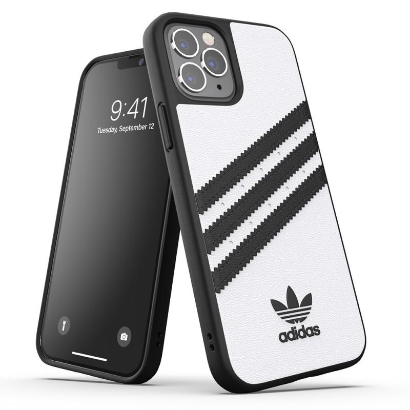 Adidas Moulded Case iPhone 12 / 12 Pro 6.1 Wit/zwart - 6