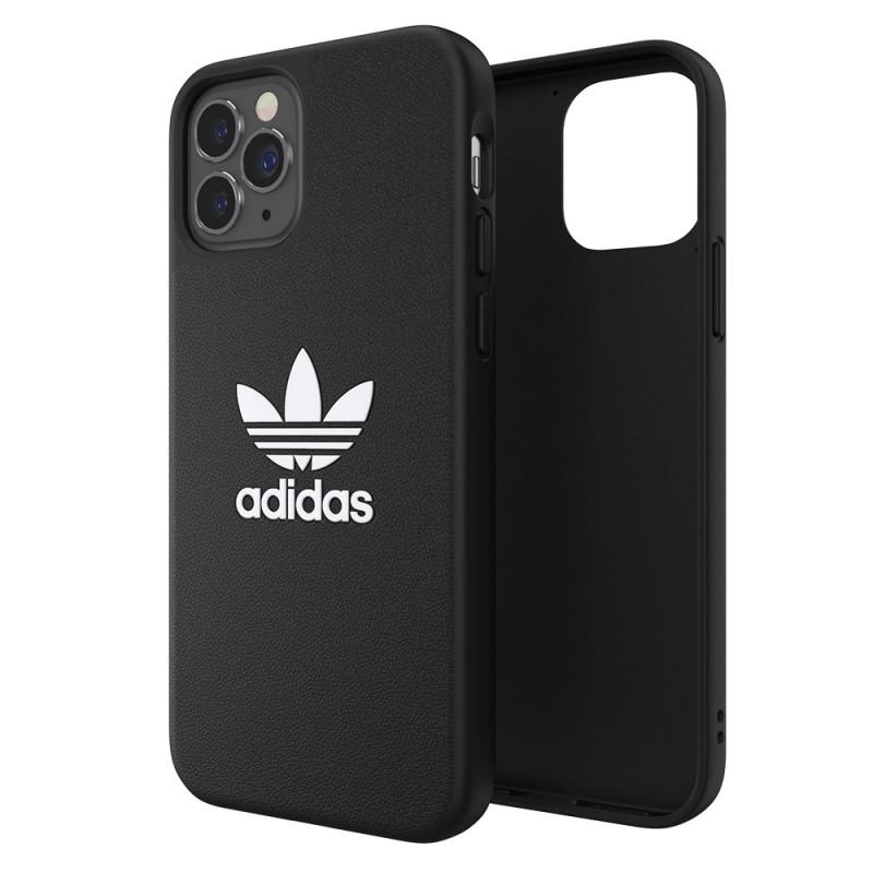 Adidas Moulded Case Trefoil iPhone 12 / 12 Pro 6.1 Zwart - 1
