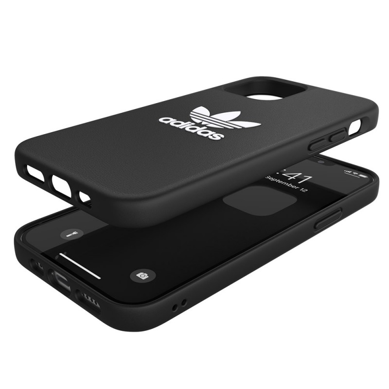 Adidas Moulded Case Trefoil iPhone 12 / 12 Pro 6.1 Zwart - 2