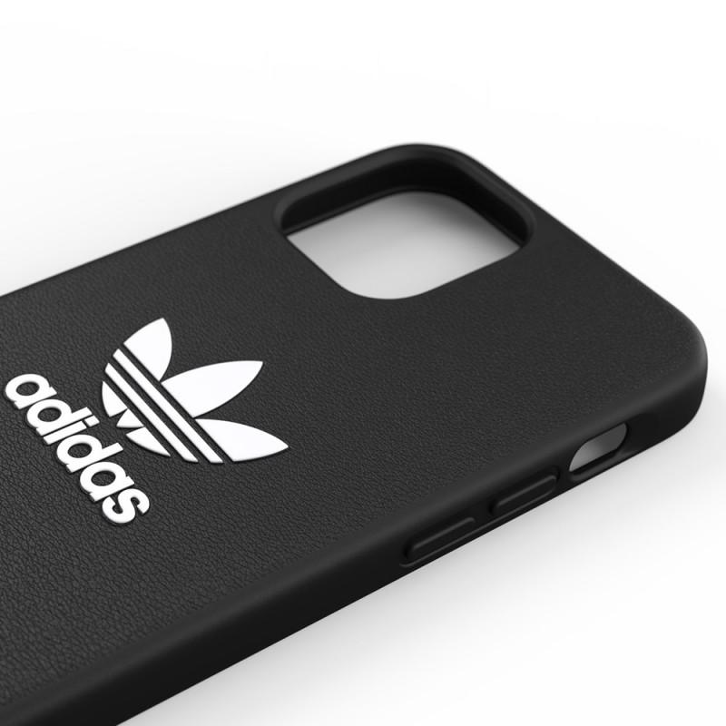 Adidas Moulded Case Trefoil iPhone 12 / 12 Pro 6.1 Zwart - 6