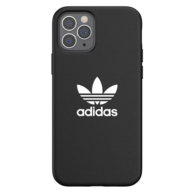 Adidas Moulded Case Trefoil iPhone 12 / 12 Pro 6.1 Zwart - 4